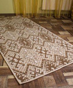 Фото ковровой дорожки пестрый