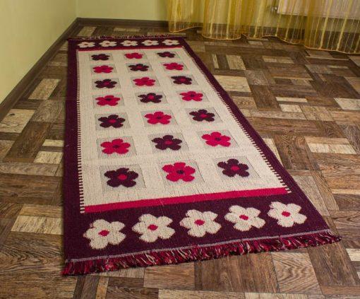 Фото ковровая дорожка с цветами