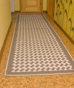 Фото ковровая дорожка серый цвет