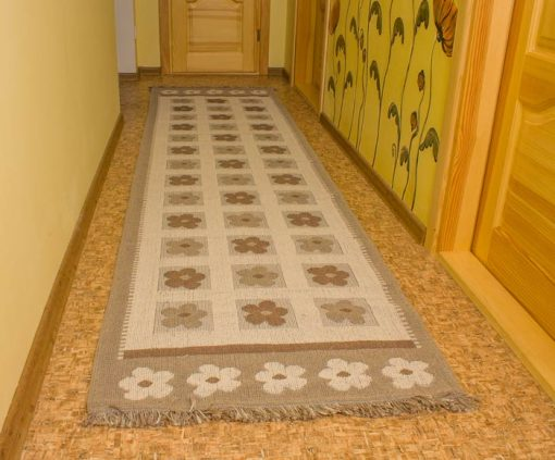 Фото ковровой дорожки с цветочками