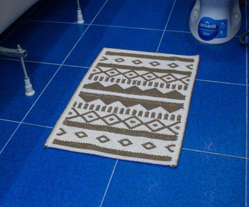 Фото коврика в ванну и туалет