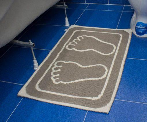 Фото коврик в ванну и туалет с отпечатком 50*80